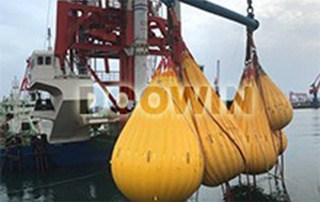 320t proof load testing water bags