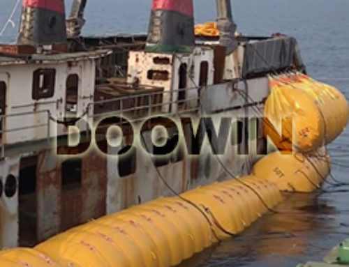 Underwater Air Lift Bags Salvage Ships