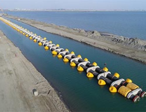 World's First Seabed Flexible HDPE Pipe Double-tube