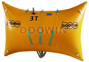 pillow lift bags, enclosed flotation bags