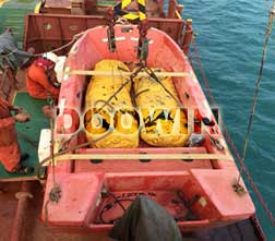 load test water bags for lifeboat