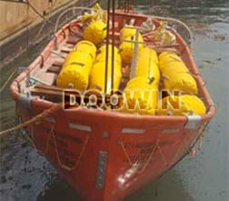 lifeboat load test water bags