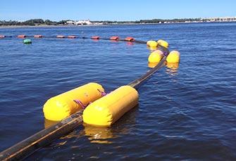 pipe float air lifting bags
