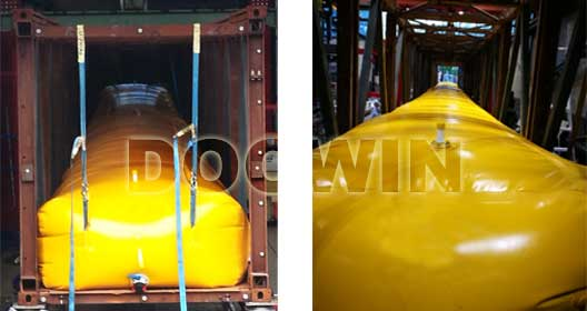 gangway water bag test weights