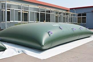 gray water collapsible bladder tanks
