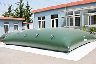 non-potable water collapsible bladder tanks