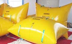 pillow type enclosed flotation bags