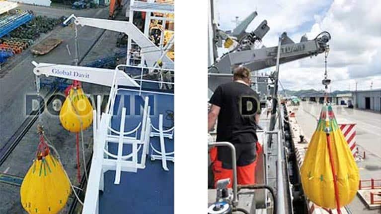 lifeboat-davit-load-testing