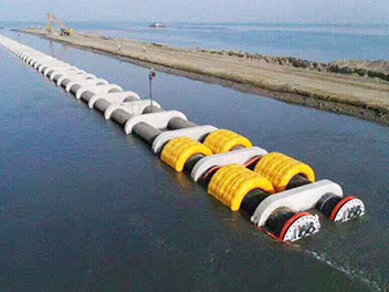 inflatable pipe buoys