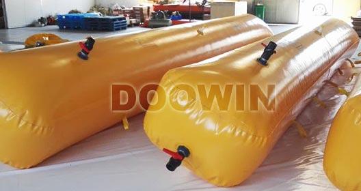 floor testing water bags