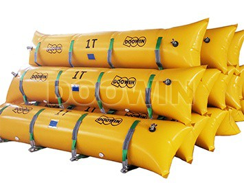 float bags salvage tube